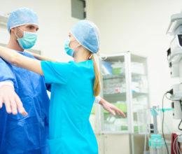 medical linen service for doctors